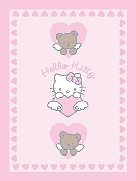 Hello Kitty 38928 - Mantita (75 x 100), diseño Hello Kitty ...