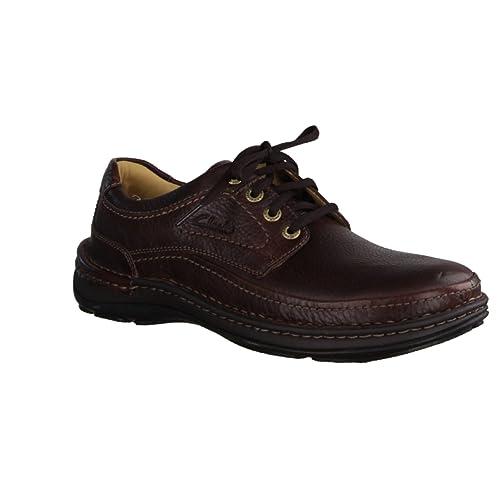 Clarks Nature Three, Derbys homme: : Chaussures et Sacs