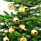 PLAY X STORE Christmas Balls Christmas Pendant Decoration 24-Pack