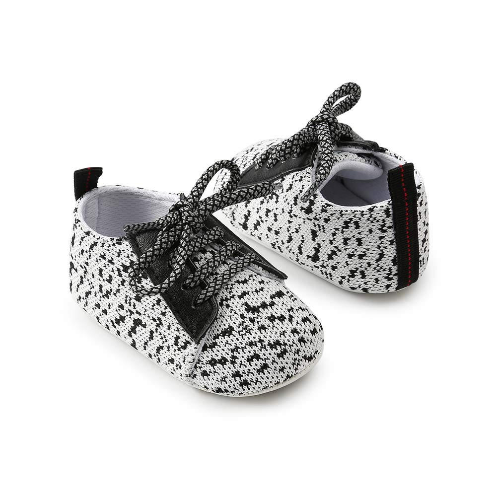 Baorong Baby Boys Girls Anti-Slip Sole Sneakers Toddler First Walkers Newborn Crib Shoes