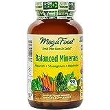 MegaFood - Balanced Minerals, Supports Bone Development, Muscle Function, & Metabolism, 90 Tablets (FFP)