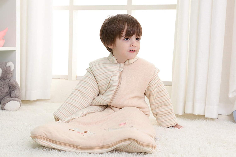 Missfly Baby Schlafsack mit abnehmbaren /Ärmeln Winter Angedickte