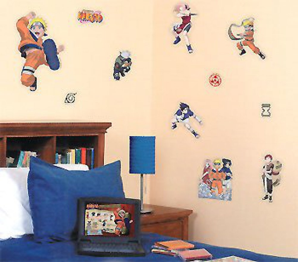 Amazon.com: Naruto Anime Wall Stickers And Decals   Boys Room Decor By  Store51: Toys U0026 Games