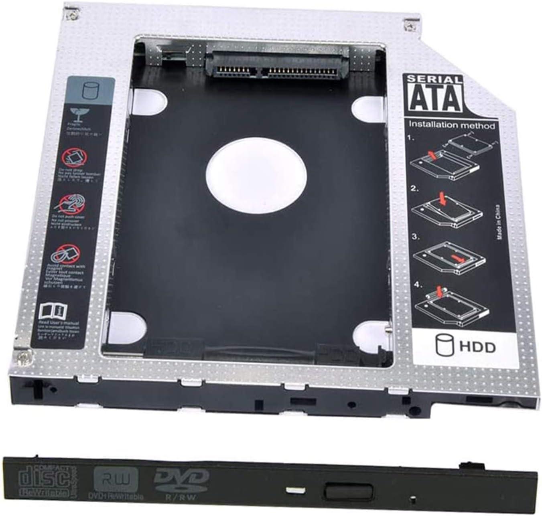 Universal 12.7mm SATA to SATA 2nd SSD HDD Hard Drive Caddy