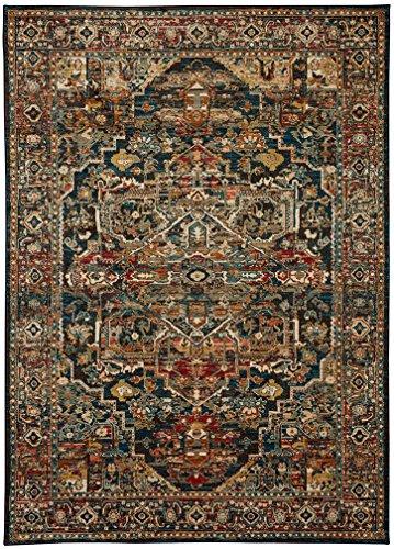Karastan Spice Market Woven Alcantara Saphire 9'6x12'11 - Area Rugs by Karastan