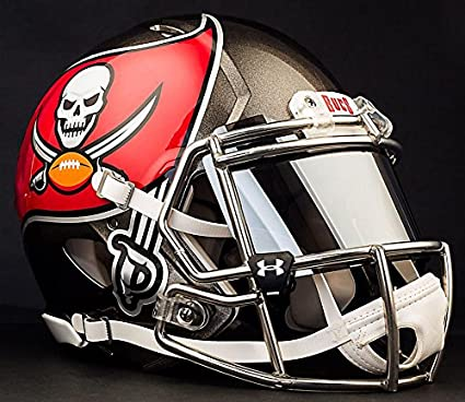 huge selection of c1ce7 adfcc Amazon.com : Riddell Speed Tampa Bay Buccaneers NFL ...