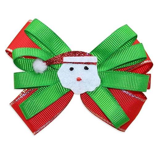 Eruditter Horquillas para el Pelo Mujer, decoración navideña ...