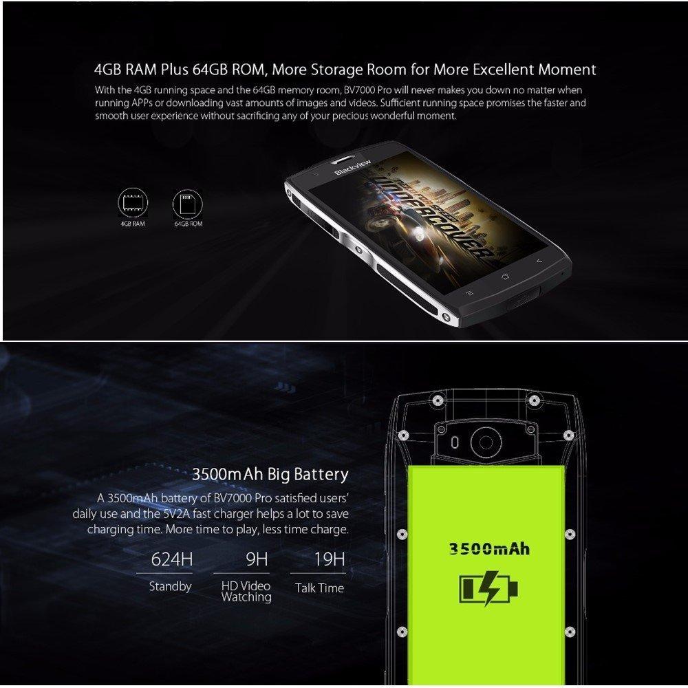 Blackview Bv7000 Pro Resistente Funda para teléfono IP68 ...