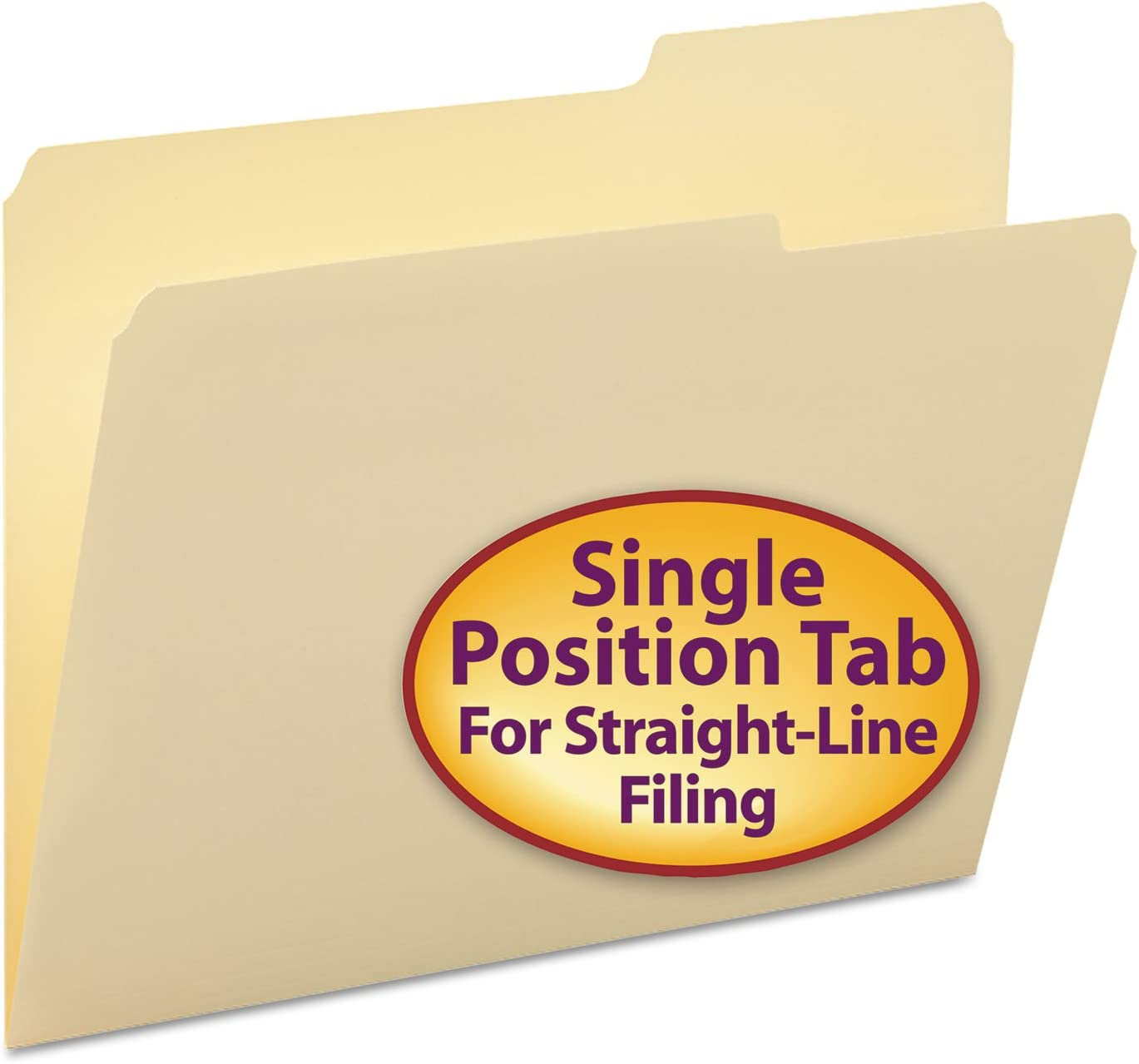 Smead 10385 Manila File Folders SMD10385