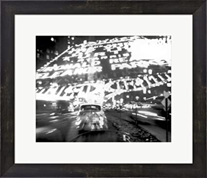 Amazon.com: Times Square Montage 1947 (small) by Ted Croner Framed ...
