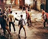 #6: West Side Story Featuring Richard Beymer, Russ Tamblyn, George Chakiris fight scene 16x20 Poster