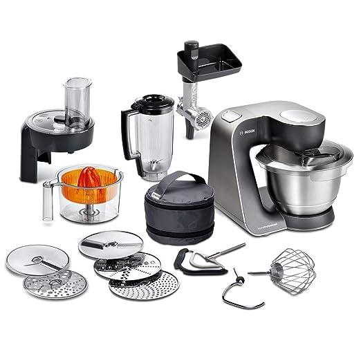Bosch MUM57860 Robot de Cocina, 900 W, Color Negro