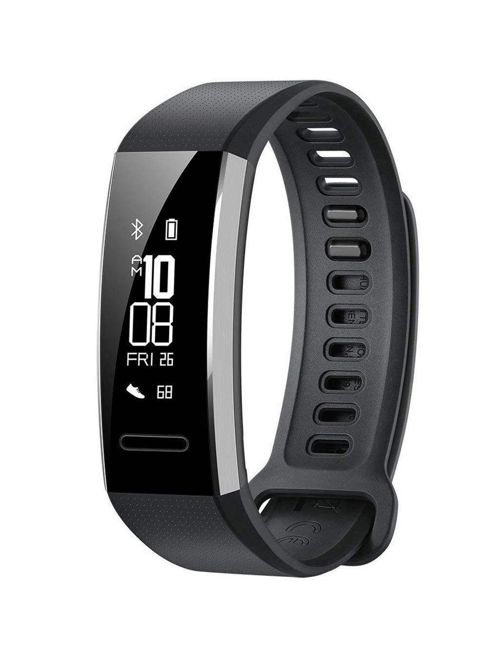 Noir  WSDSX Tracker d'activité Smart Bracelet de Fitness   GPS   Mode Multisport   Fréquence Cardiaque   Moniteur de Sommeil   IPX5 étanche