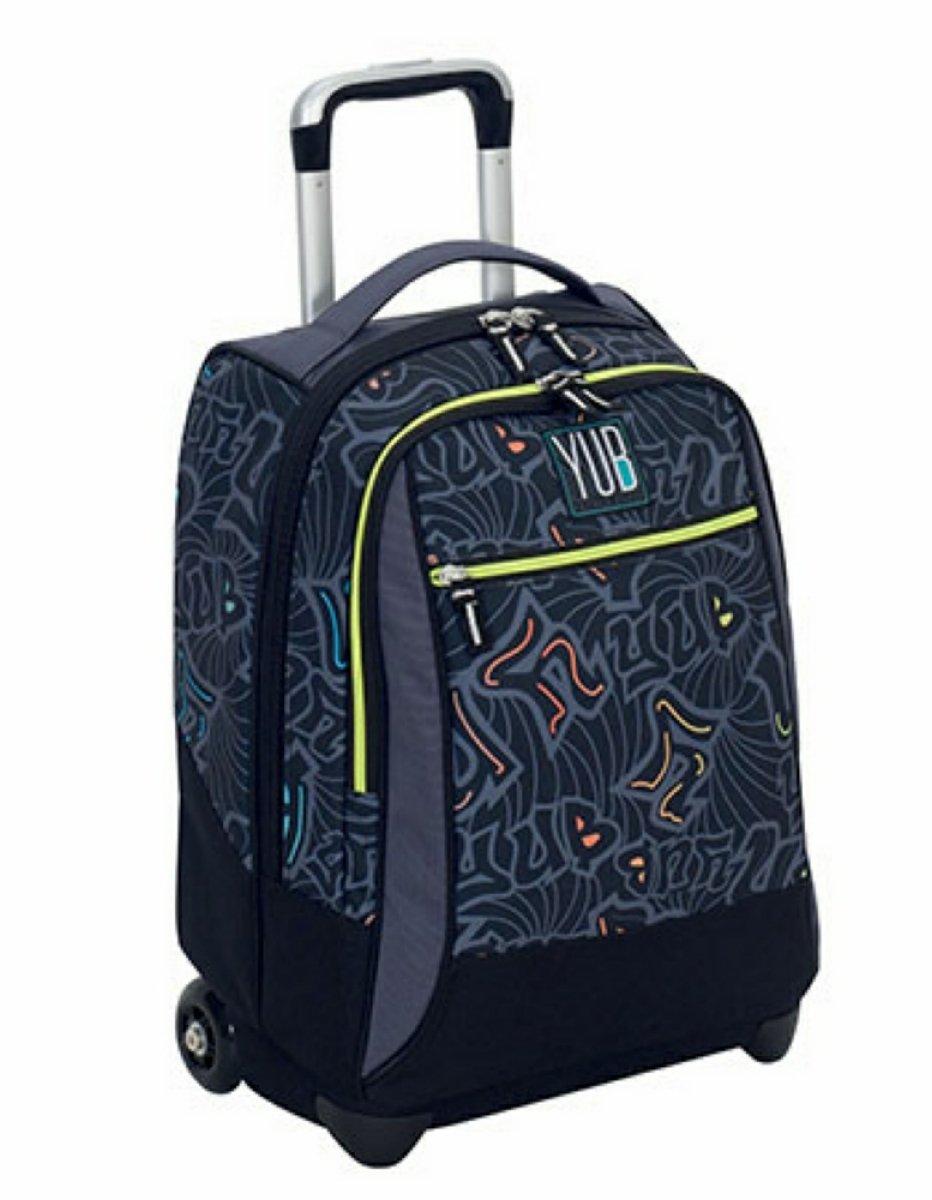 7b43514db3 Seven Trolley Murales Boy Children's Luggage, 50 cm, 34 liters, Black (Nero):  Amazon.co.uk: Luggage