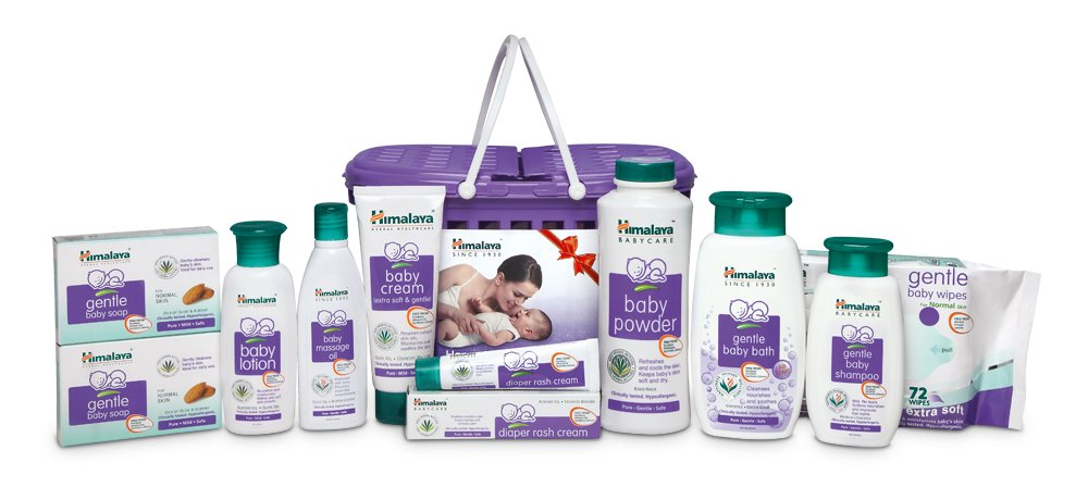 Himalaya Gift Pack Set of 9 at Amazon