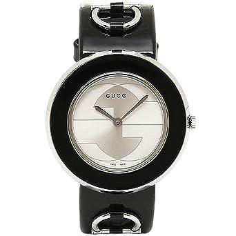 fd164a8e2abc [グッチ] 時計 GUCCI 腕時計 レディース YA129417 Uプレイ シルバー/ブラック ウォッチ [並行