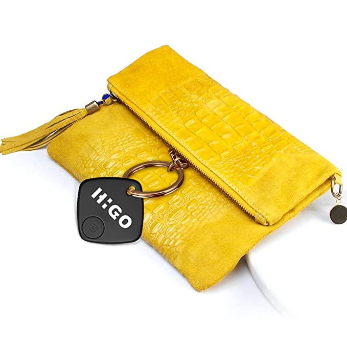 Portable Phone Tracker for Your Keychain Purse Higo Wireless Key Finder Wallet Bluetooth Remote Control Item Locator