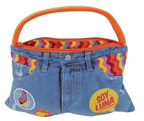 Fun House 712710 Soy Luna cojín Bolsa poliéster Azul 36 x 8 ...