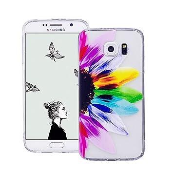 Carcasa Samsung Galaxy S5, Funda de Silicona TPU Suave ...
