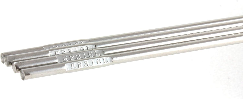 "5 LB ER316L TIG Stainless Steel Rod 3//64/"" 39/"" x 0.045/"""