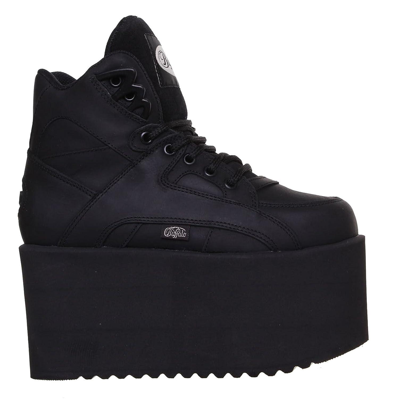 Buffalo 1300-10 Womens 1300-10 Leather Buffalo Boots Noir Noir 7993d91 - latesttechnology.space