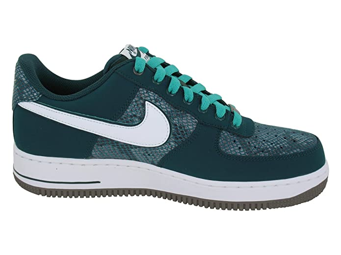 15e98aacf597e5 NIKE Air Force 1 Year of the Snake Dark Atomic Teal Trainers (488298 306)  (UK 8 US 9 EUR 42.5)  Amazon.co.uk  Shoes   Bags