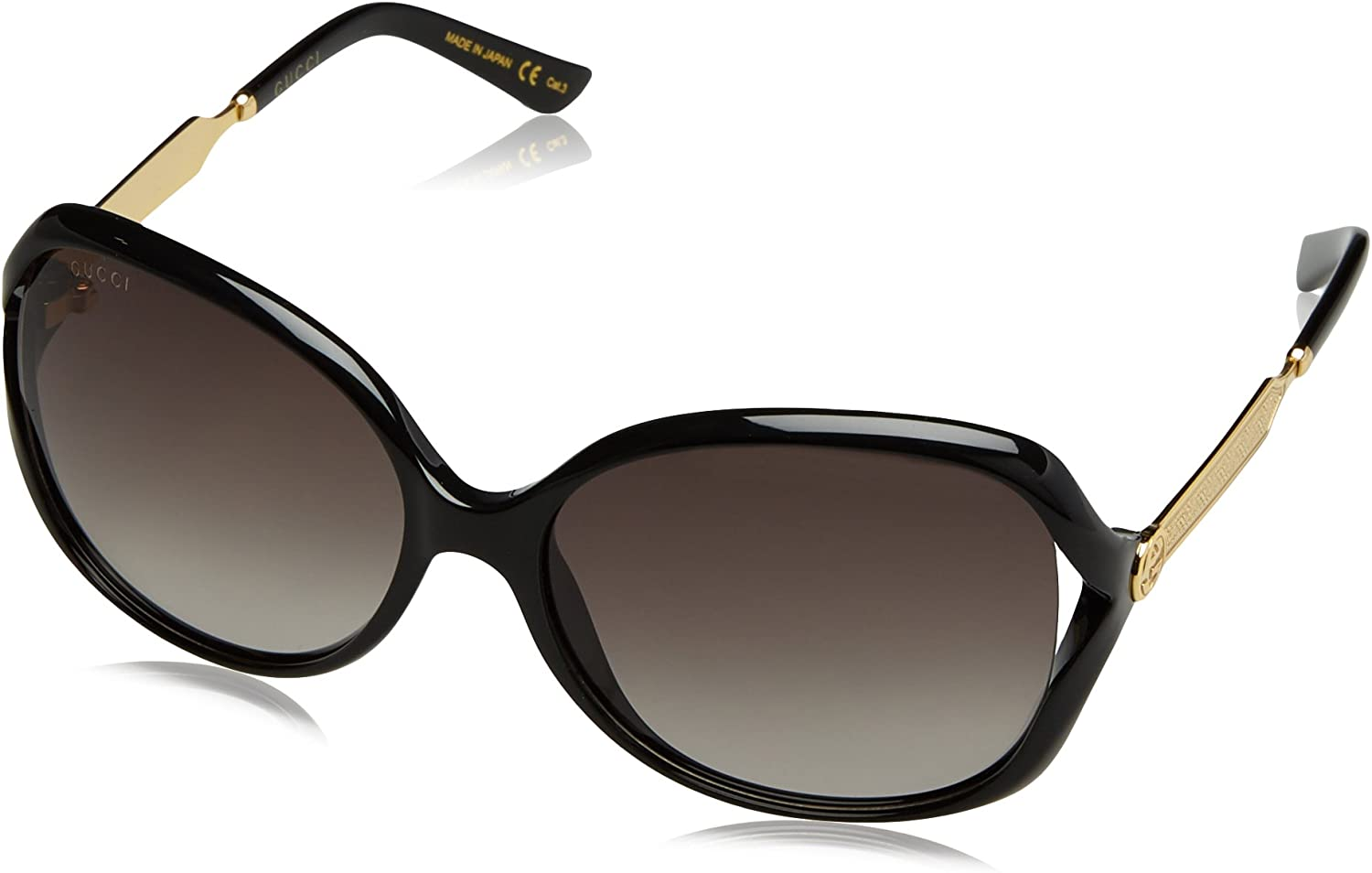 Gucci Women's GG0076S Fashion Sunglasses 60mm