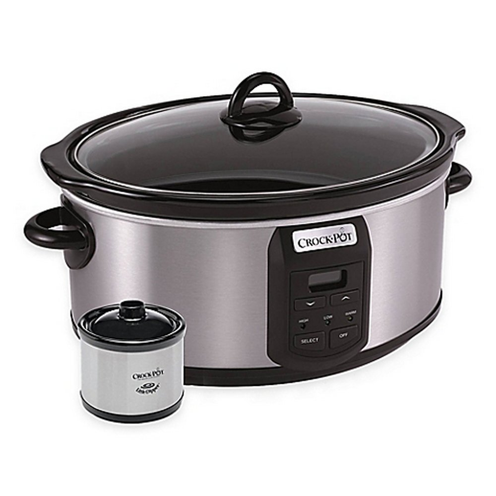 Crock-Pot® 7 qt. Slow Cooker with Little Dipper® Warmer