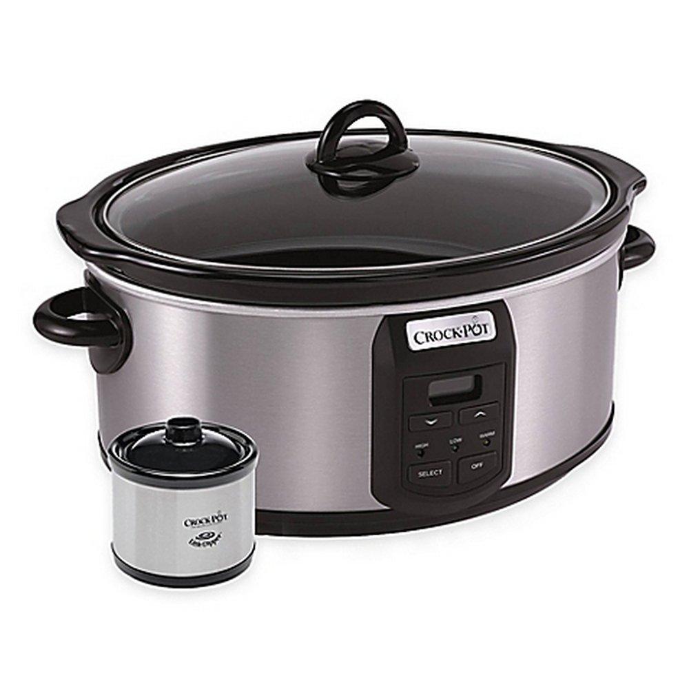 Crock-Pot® 7 qt. Slow Cooker with Little Dipper® Warmer