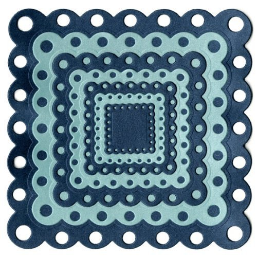 We R Memory Keepers Nesting Eyelet Squares