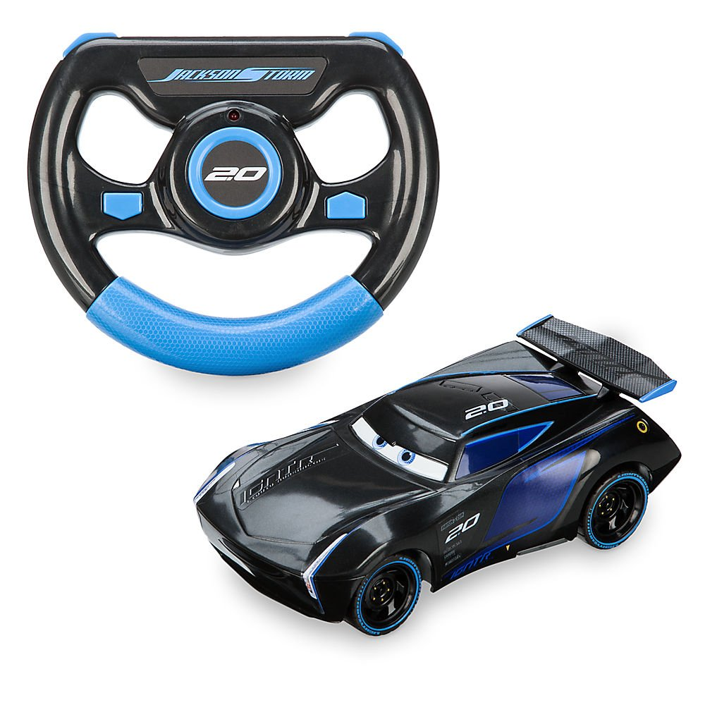Disney Jackson Storm Remote Control Vehicle Cars 3