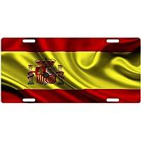 Placa de matrícula personalizada MNUT Espa?a bandera