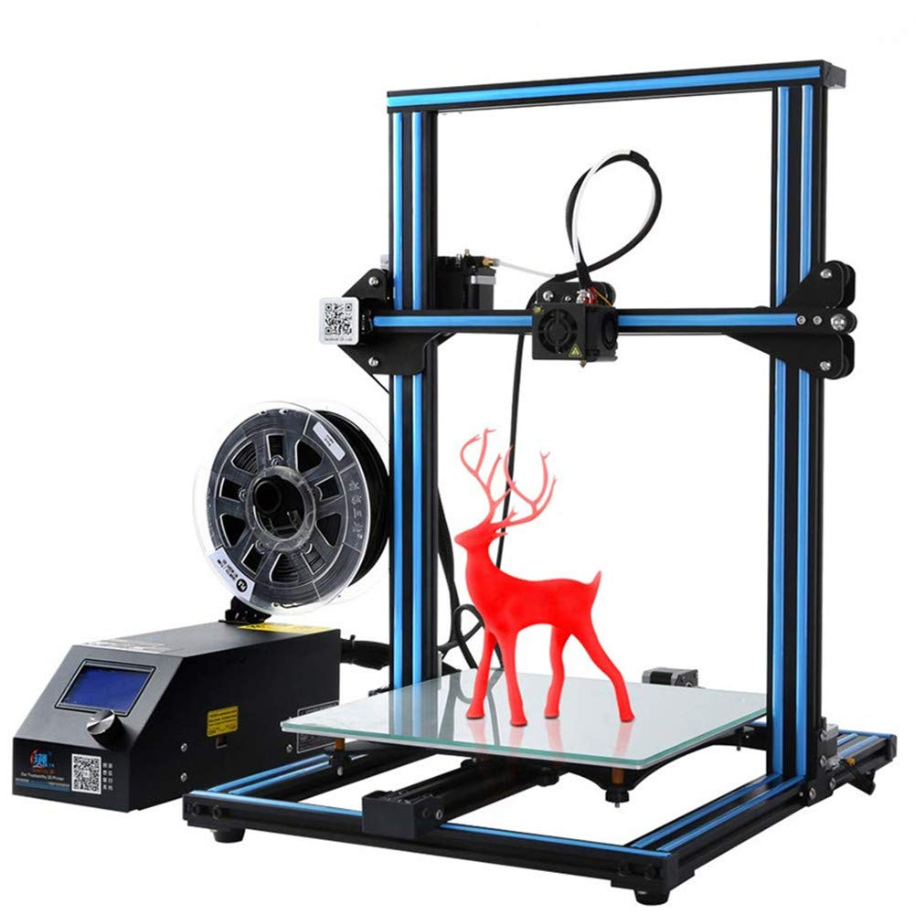 Official Creality 3D CR-10S 3D Printer with Filament Monitor Upgraded Control Board and Dual Z Lead Screw 300x300x400mm