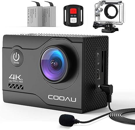 Cooau 4k Action Cam 20mp Wifi Sports Kamera Kamera