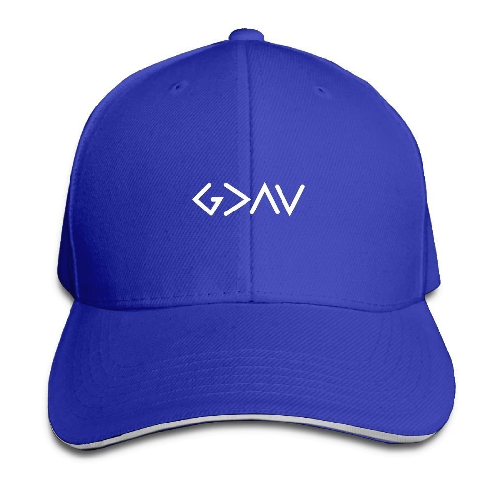 BUSEOTR God is Greater Baseball Caps Adjustable Back Strap Flat Hat