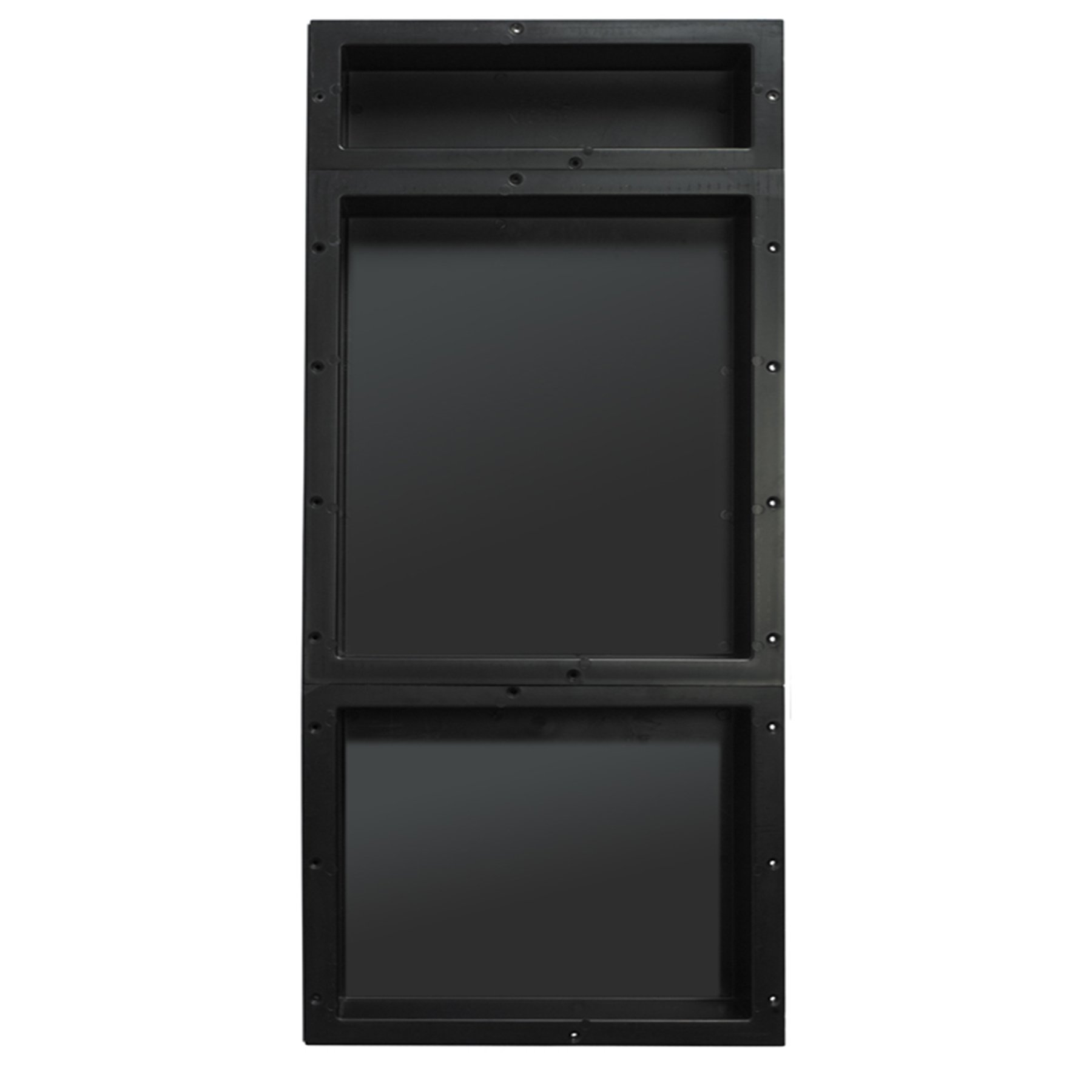 Tile Redi USA RNT166S-20-14 Redi Niche Triple Shelf with 14'' H & 34'' D Inner Shelf, 16'' W x 40'' H