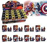 Itoys Avengers Iron man vs Captain America Minifigures Blocks Toys Pack of 16