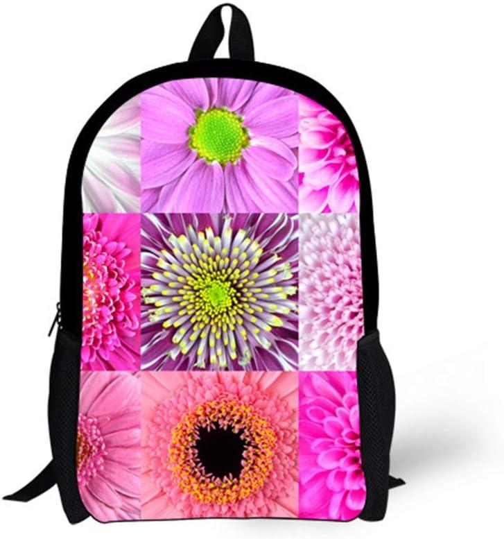 Horeset Backpack Floral Pirnt Casual Style Lightweight School Bag Laptop Book Bag Travel Bag Daypack for women girls boy men teen 1