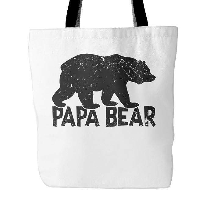 29eab74e8e Amazon.com  Papa Bear Tote Bag