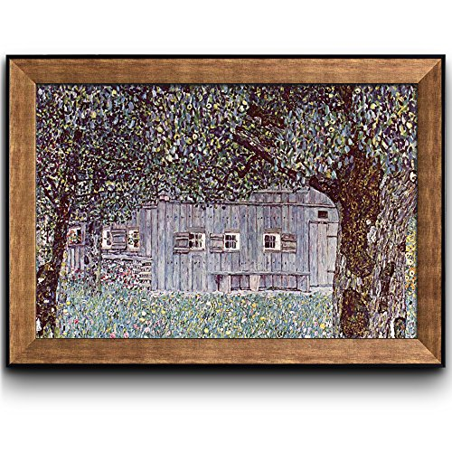 Farmhouse in Upper Austria 1912 by Claude Monet (No Signature) Framed Art