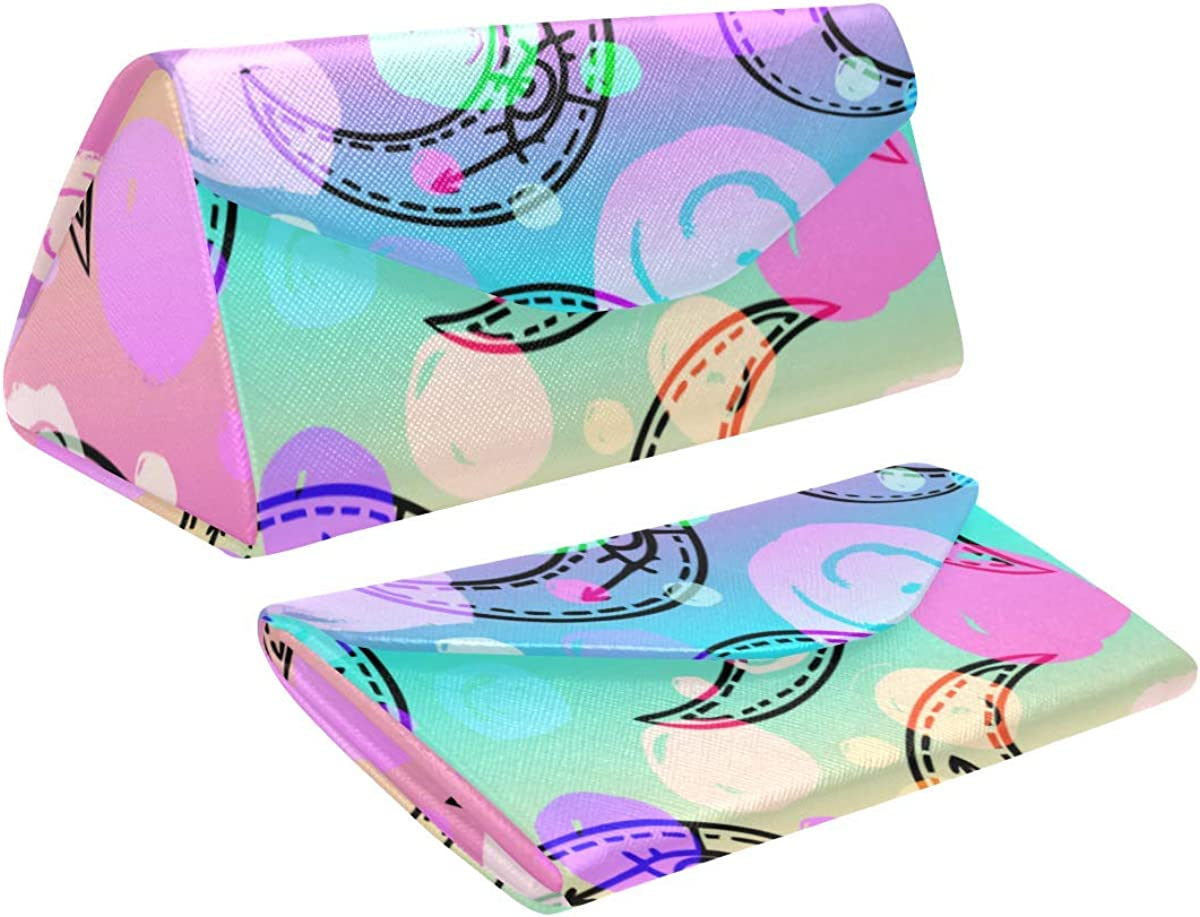 AnnHomeArt Abstract Custom Foldable Glasses Case