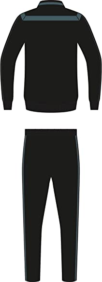adidas EI7388_S Chándal, Hombre, Negro/Vertec: Amazon.es: Deportes ...