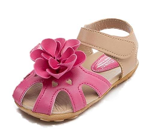 b2ab03307 Culater Zapatos para niña Zapatillas Sandalias Chicas Flor (2~7 años)   Amazon.es  Zapatos y complementos