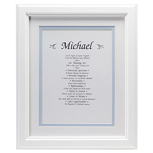 Michael - First Name Print for a Boy - Origin, Meaning, Personality Traits