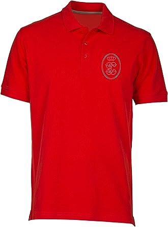 Speed Shirt Polo por Hombre Rojo TM0290 Guardia Civil Spagna: Amazon.es: Ropa y accesorios