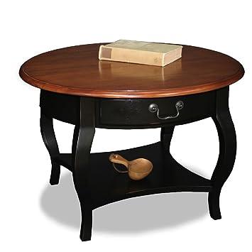 Amazon Com Brown Cherry Slate Solid Living Room Wood Coffee Table