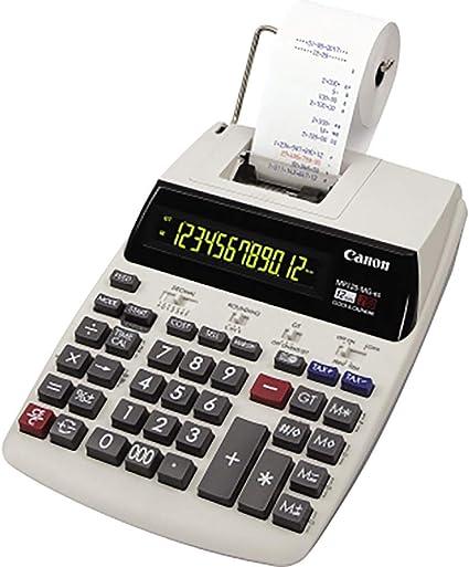 Canon MP120-MG-es II, Calculadora Impresora, Tamaño Único, Gris ...