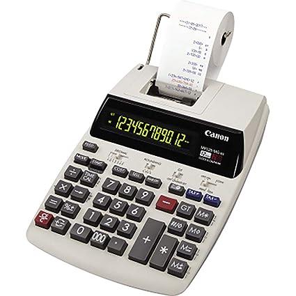 Calculadora Impresora Canon MP120-MG ES II Gris: Canon ...