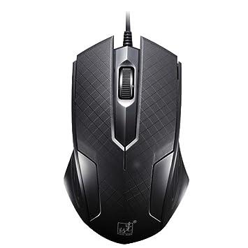 AROCCOM® Negro Especial Nueva para PC/ordenador portátil/escritorio USB 3d óptico rueda de desplazamiento ratón ratón: Amazon.es: Informática