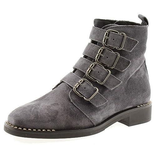 60ac29b64eef3 Zapatos Mujer Botas Botines Alpe 3810 Gris 40  Amazon.es  Zapatos y  complementos